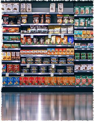 shopping aisle